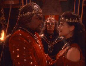 Worf and Dax&#39;s wedding