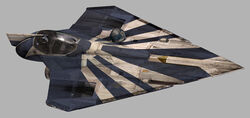 Plo Koon&#39;s Jedi Starfighter