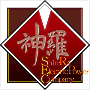 Shin ra logo Final Fantasy Xiv:Shinra Electric Power Company