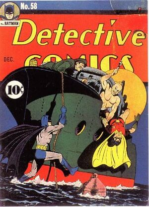 Cover for Detective Comics #58