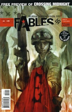 Cover for Fables #55