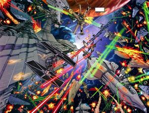 Battle of the Rebel fleet