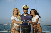 Captain Jimbo on the SS Glamour Photography