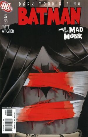 Cover for Batman and the Mad Monk #5