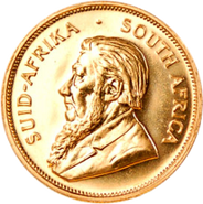 HeadsSAfricanKrugerrand