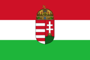 Flag of Hungary 1940