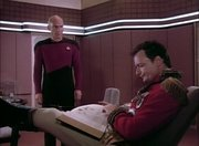Picard Q Ready Room