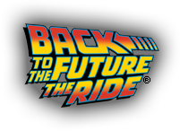 Back to the Future The Ride logo