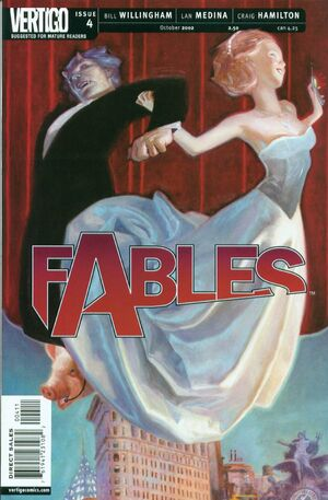 Cover for Fables #4