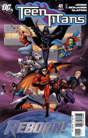 Cover for Teen Titans #41