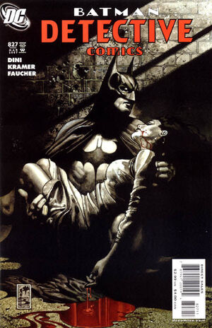 Cover for Detective Comics #827