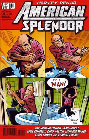Cover for American Splendor #2