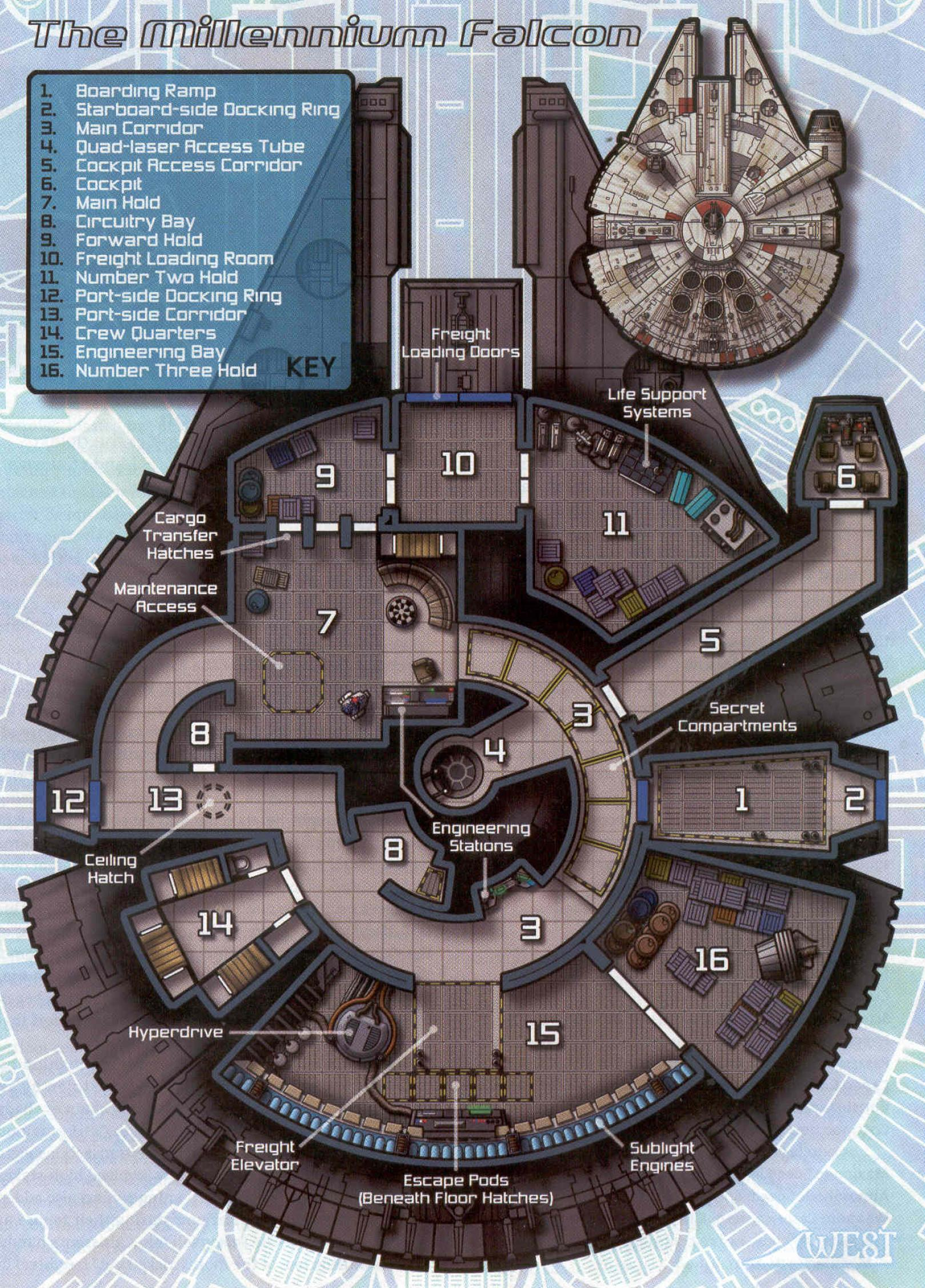 The Millennium Falcon Star Wars