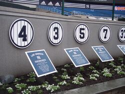 YankeeRetiredNumbers