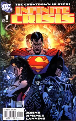 Cover for Infinite Crisis #1