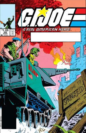 G.I. Joe A Real American Hero Vol 1 50