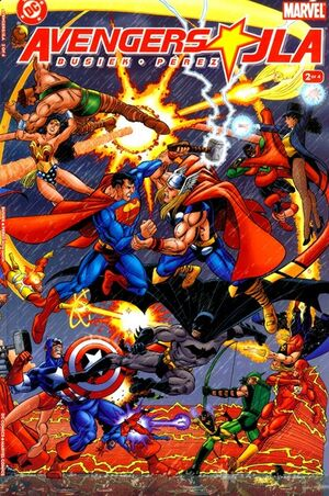 Cover for Avengers/JLA #2