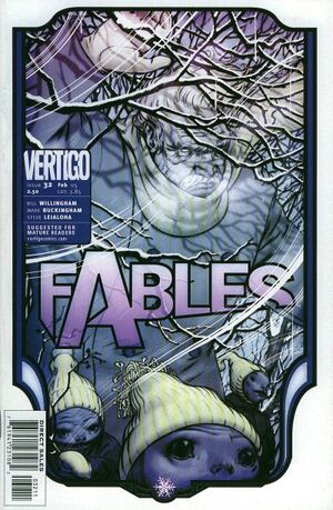 Cover for Fables #32