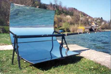Solar-cooker-design solar grill