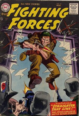Cover for Our Fighting Forces #19