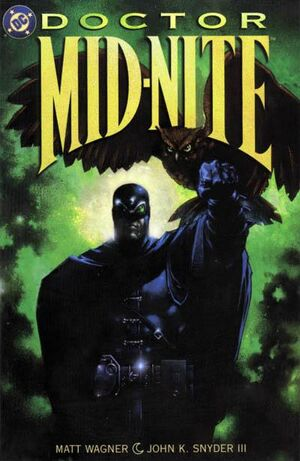 Cover for Doctor Mid-Nite #1