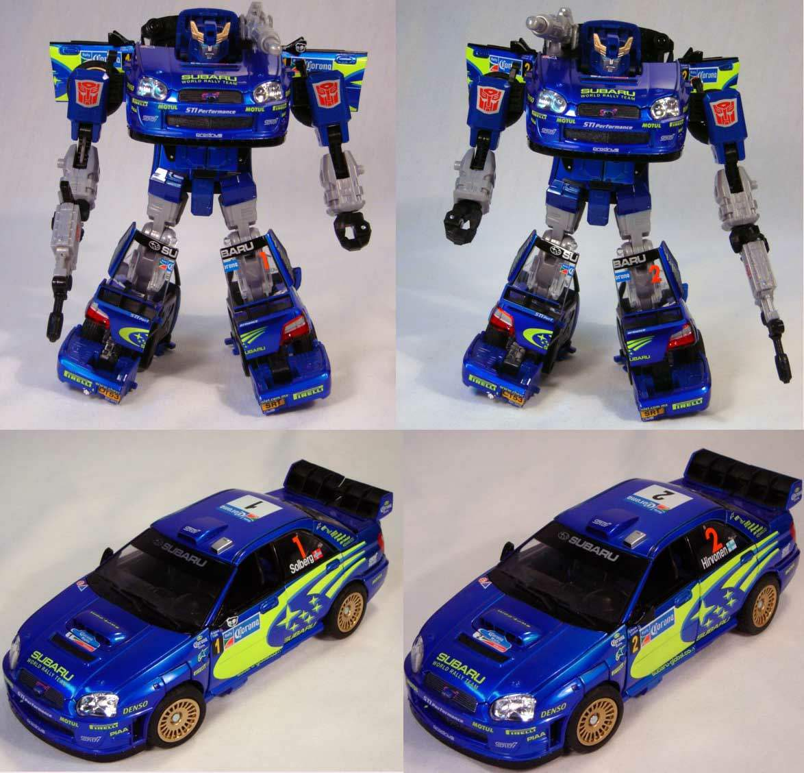 of Binaltech Smokescreen's
