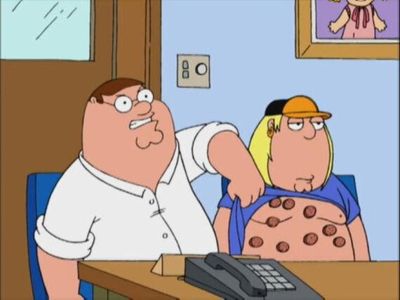 Family Guy Season 2 Episode 9 If I'm Dyin', I'm Lyin'