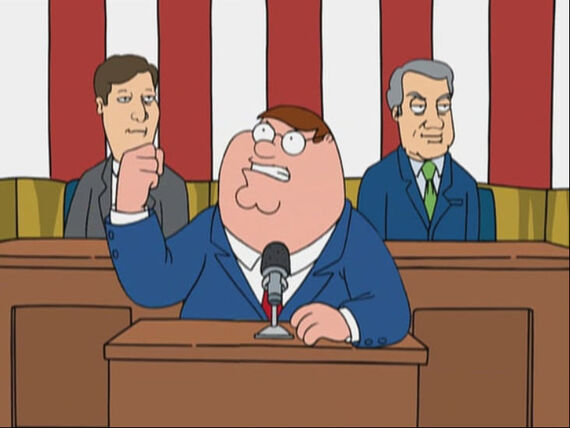 Family Guy Season 3 Episode 3 Mr. Griffin Goes to Washington