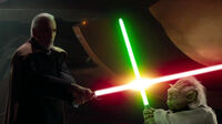 Dooku vs yoda