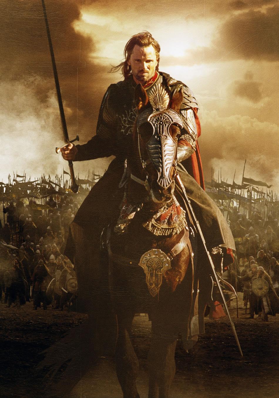 Le Seigneur des Anneaux / The Hobbit #3 Aragorn2