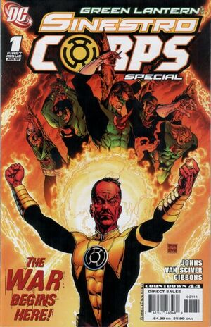 Cover for Green Lantern Sinestro Corps Special #{{{Issue}}} (2007)