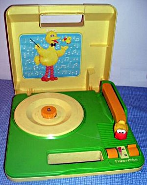 Big-bird-record-player