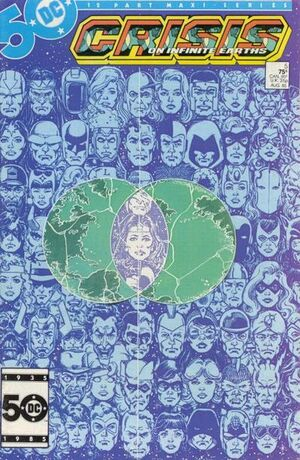 Cover for Crisis on Infinite Earths #5