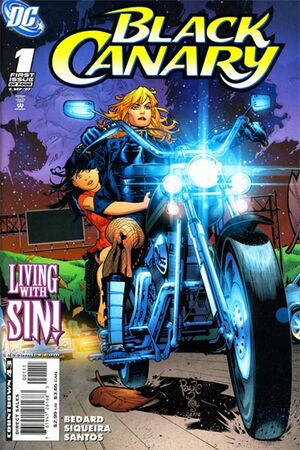 Cover for Black Canary #1