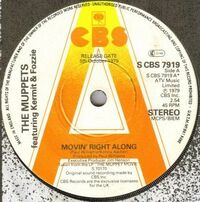 UK1979CBS7919MovinRightAlong