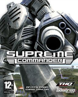 Supreme Commander Box Art