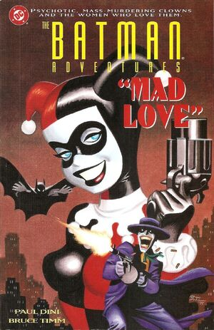 Cover for Batman Adventures: Mad Love #1