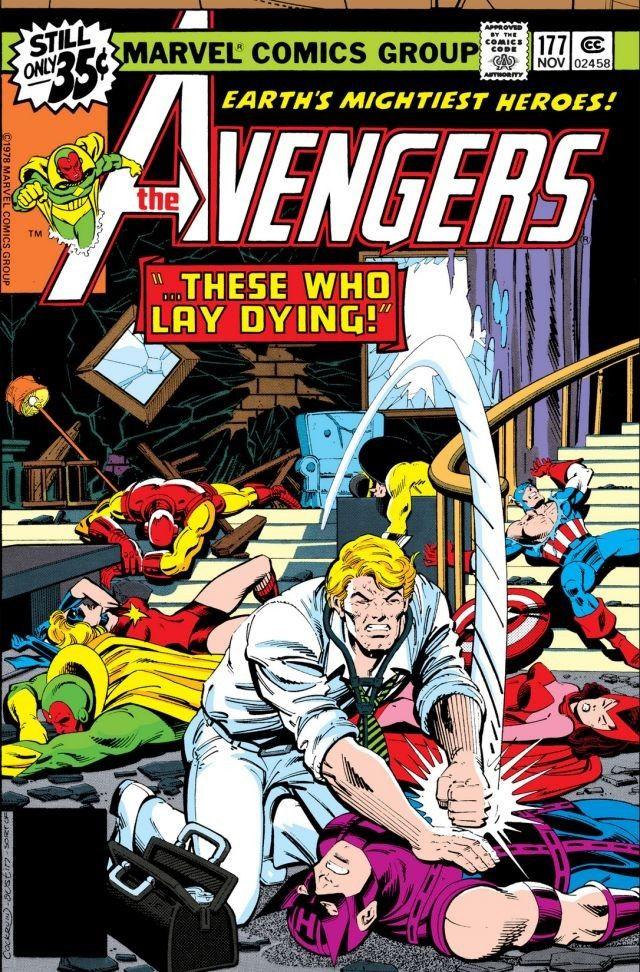 avengers then to now avengers 173 to 177 korvac saga part 2