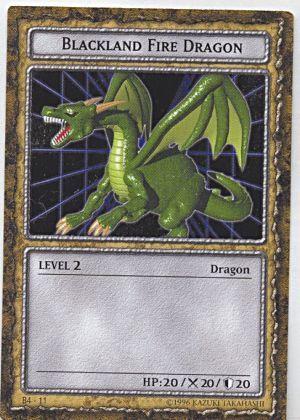Blackland Fire Dragon (DDM) - Yu-Gi-Oh!Black Fire Dragon Yugioh