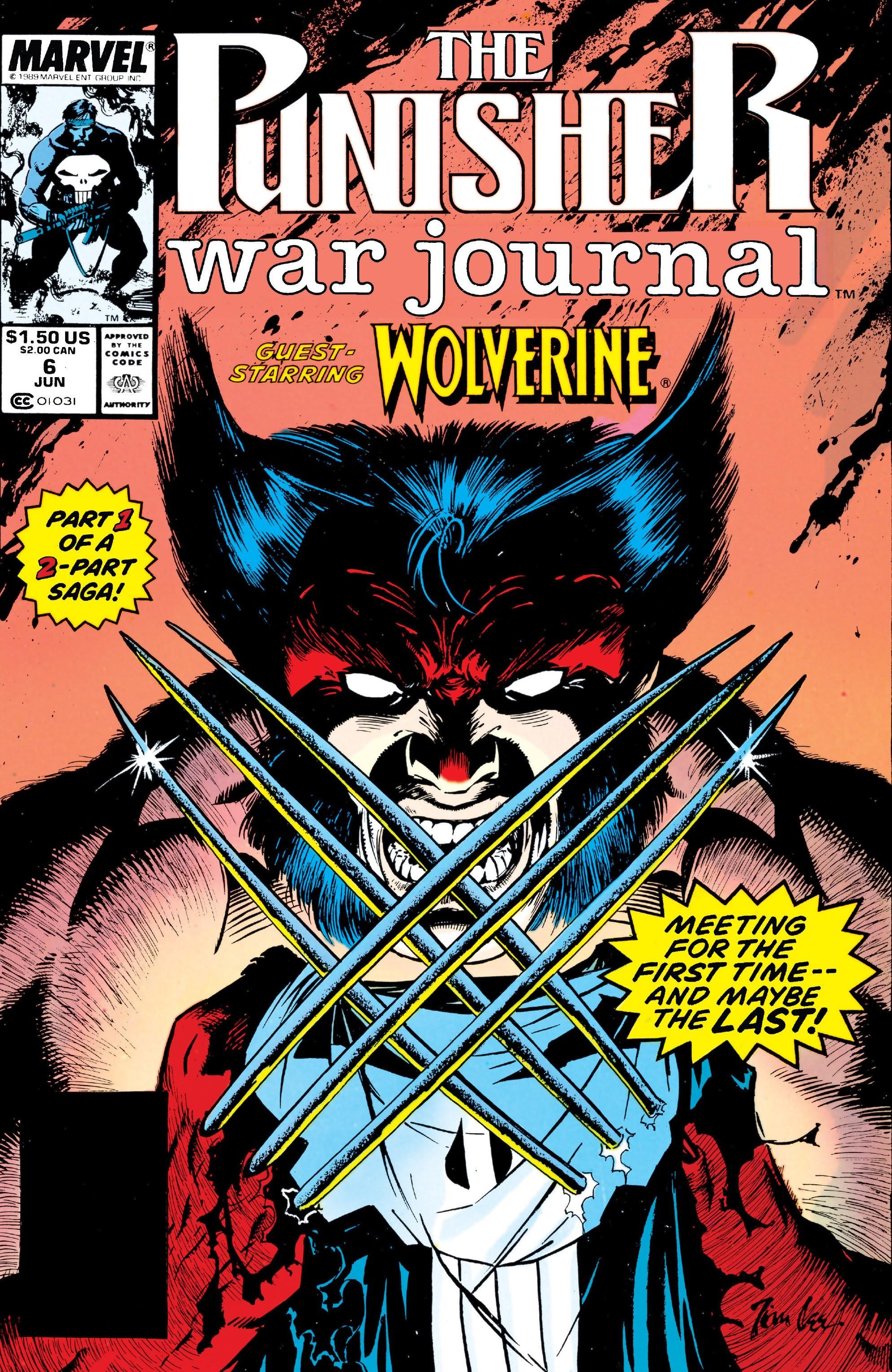 Punisher War Journal Vol 1 6 - Marvel Comics Database
