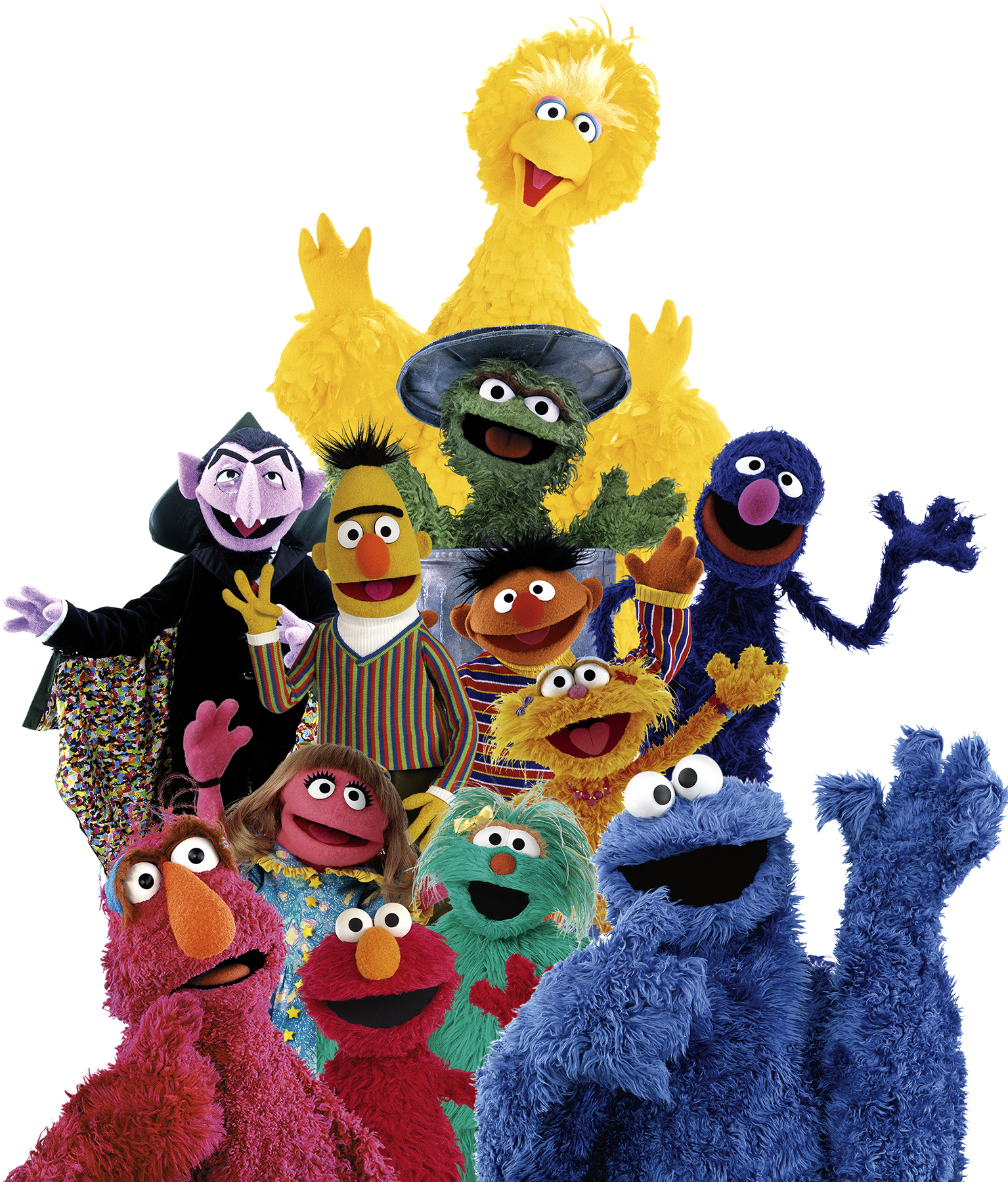It is an image of Smart Sesame Street Images