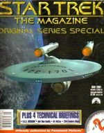 Star Trek The Magazine volume 2 issue 1 cover 2