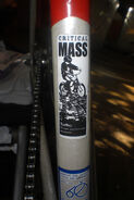Critical Mass sticker - SF