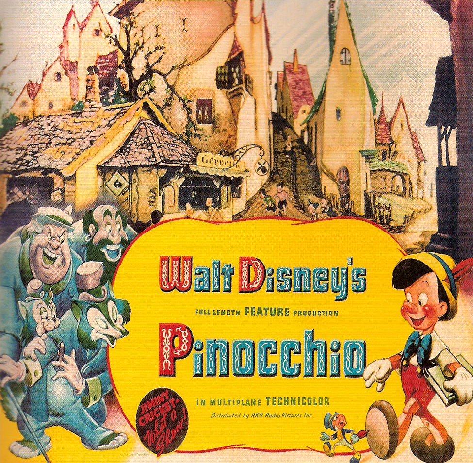 pinocchio Pinocchio is one of the heroes of auradon and the son of geppetto he is the father of pin in the film, pinocchio was first introduced as a lifeless puppet when it was time for bed, geppetto caught sight of a wishing star and wished pinocchio to become a real boy once geppetto fell asleep.