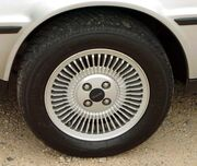 Mid 1981 De Lorean silver wheel