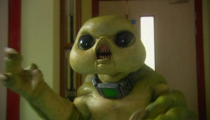 Le TARDIS : Entrez, c'est plus grand à l'intérieur... Slitheen_child