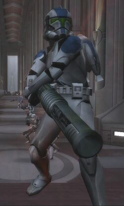 Clone Jet Trooper with EMP Launcher