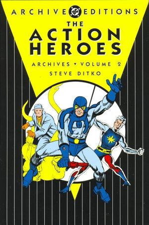 Cover for Action Heroes Archives #2