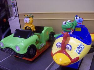 Muppet Babies.Coin-operated Ride