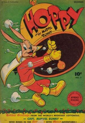 Cover for Hoppy the Marvel Bunny #7